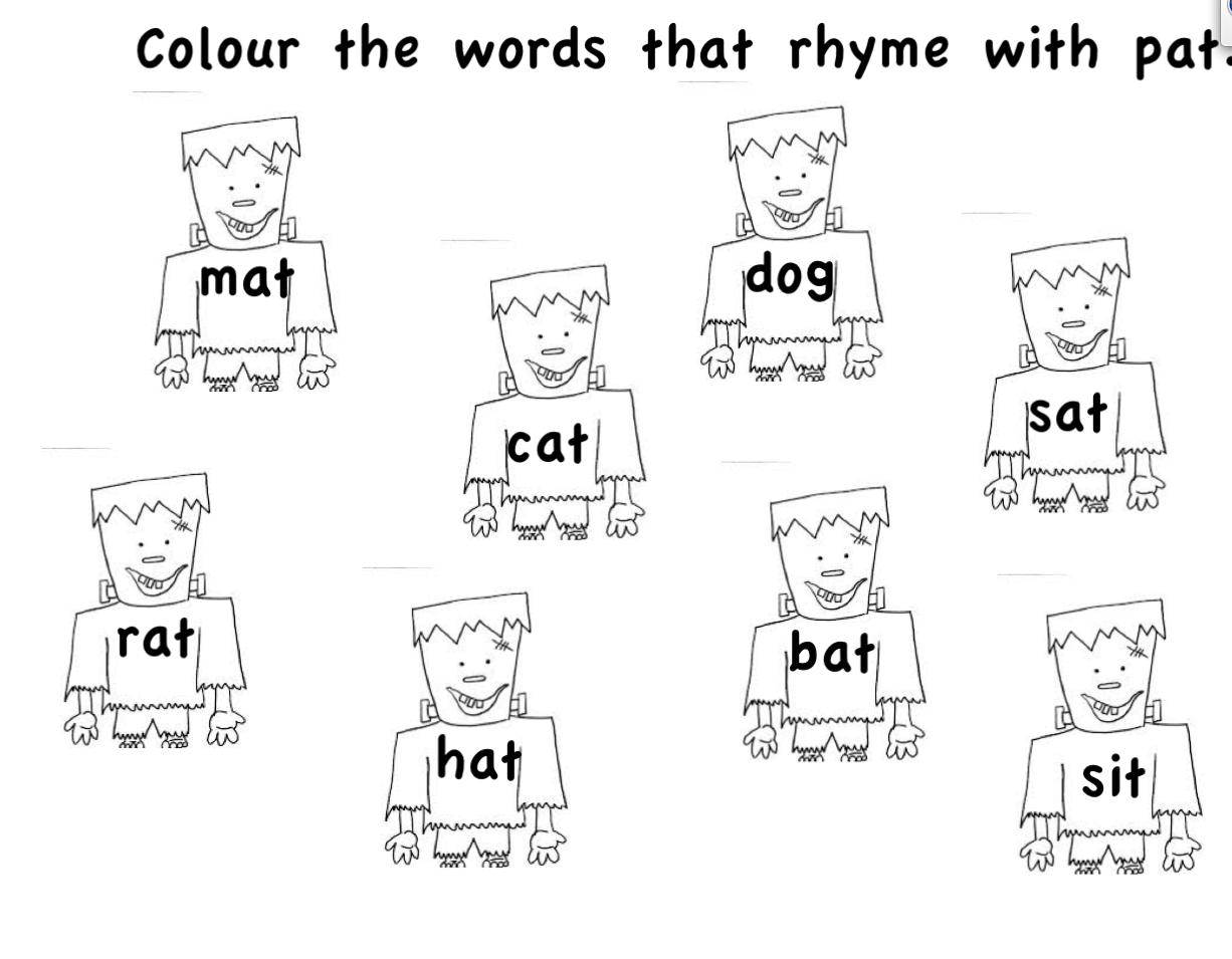 Rhyme « Smart Board Ideas