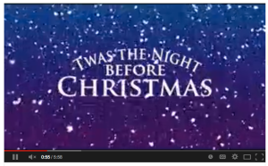 screen shot 2013 12 20 at 15518 pm here is the full video of twas the night before christmas on youtube - Twas The Night Before Christmas Youtube