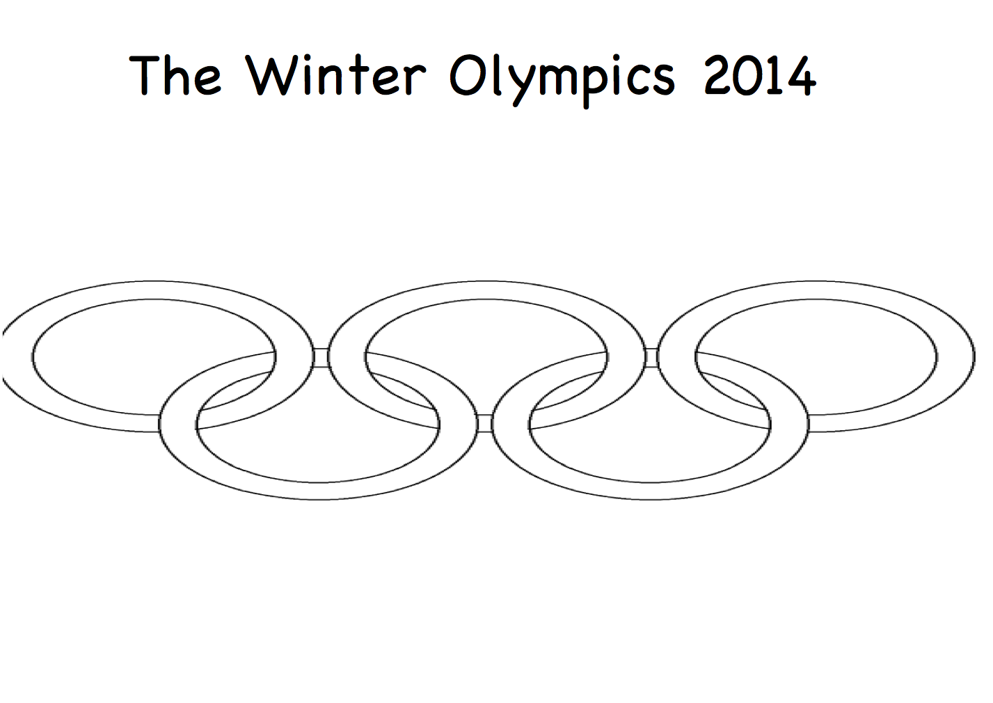 The Olympics – Printable colouring book. – PDF « Smart Board ...